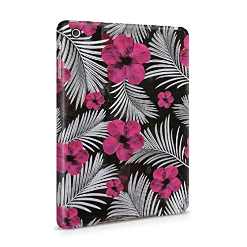 Purple Pansy Flower Blossom Pattern Plastic Tablet Snap On Back Case Cover Shell For iPad Mini 2 & iPad Mini 3