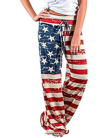 ea99d3f28d3 Womens Pajamas High Waisted Floral Print Pants Juniors Sleepwear Wide Leg  Palazzo Lounge Pants