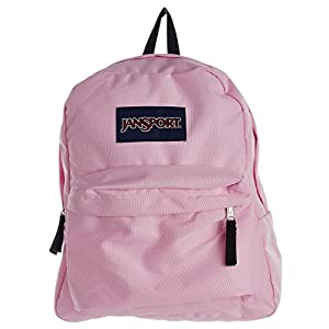 JanSport Unisex Spring Break Pink Mist Backpack