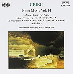 Edvard Grieg: Piano Music, Vol. 14