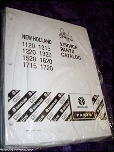 New Holland 1120/1220/1520 Tractor OEM Parts Manual: New