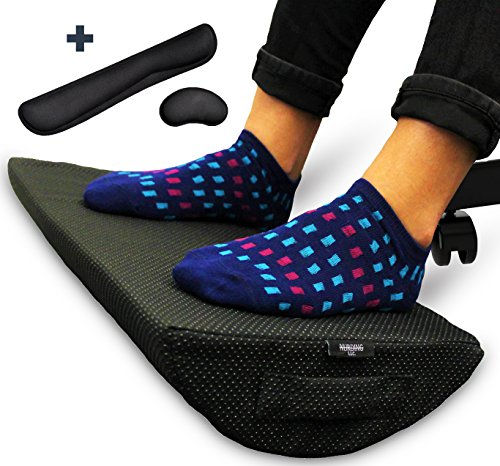Cheap  Seat for Feet - Foot Rest Cushion for Under Desk - Bonus..