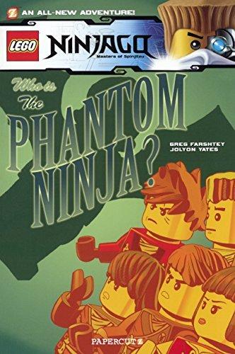 Lego Ninjago 10: The Phantom Ninja by Greg Farshtey (2014-05 ...