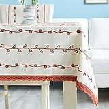 Orange green laurel pattern pa