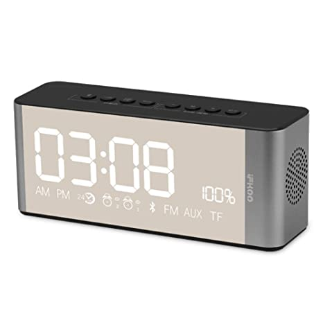 YJFNZ Reloj Despertador Digital Oficina Mesa Despertador Proyector ...