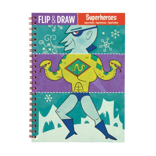 Superheroes Flip Color & Draw