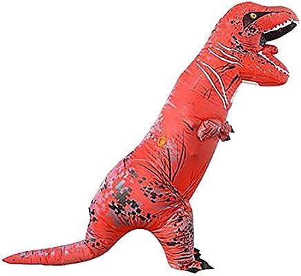 ShiyiUP Disfraces Inflable Dinosaurios Traje Hinchable Adultos y Niños para Halloween