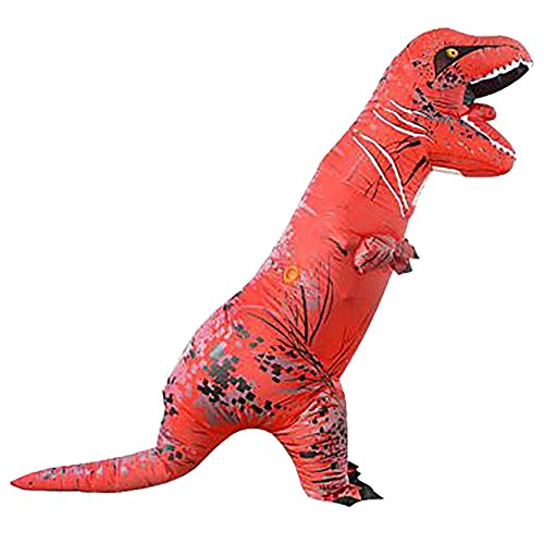 THEE Halloween Inflatable T-Rex Dinosaur Blow Up Dress Up Simulation Cosplay Costume Adult/Child