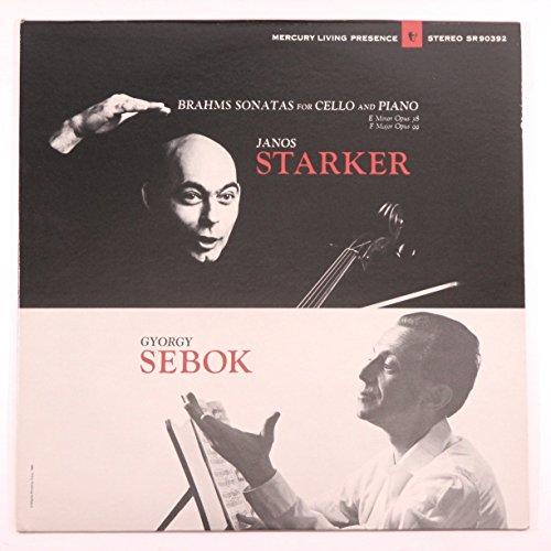 Brahms Sonatas for Cello and Piano / Janos Starker, Gyorgy Sebok (Mercury Living Presence)