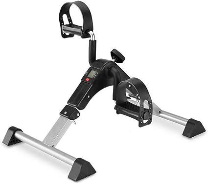 Fold Mini Exercise Bike Arm Leg Cycling Fitness Mini Pedal Exerciser LCD Display