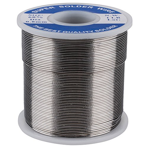 "Parts Express Electronic Solder 60/40 0.8mm (0.031"") Diameter 1 lb. Spool"