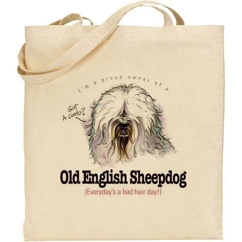 Cotton Natural English Humorous Old Bag English AB AB Old Sheepdog Sheepdog Humorous A1wApzUq