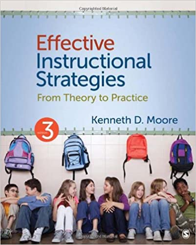 Effective Instructional Strategies From Theory To Practice Kenneth
