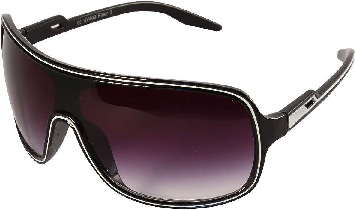 CHIC de Net gafas de sol bicolor Mono Discos Piloto Gafas ...