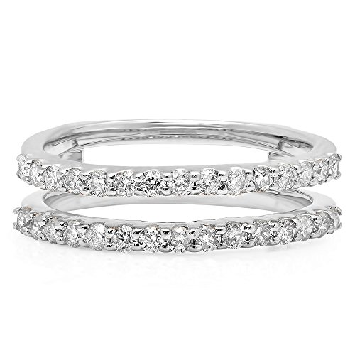 0 50 Carat Ctw 14k Gold Round Diamond Ladies Anniversary