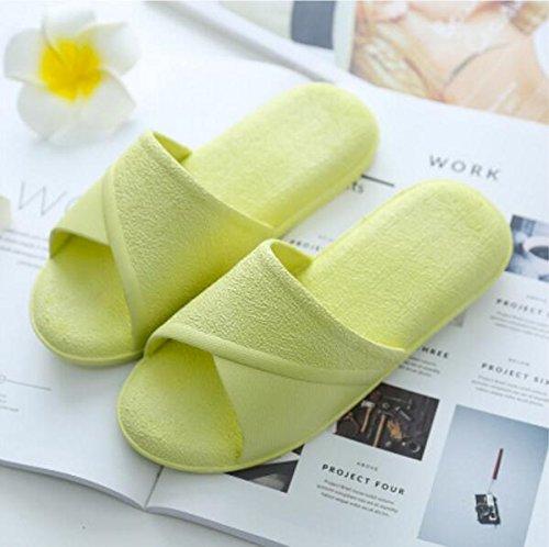 Suole Green Bagno Dimensione Con Pantofole 39 38 Suxian Da Donna Green Morbide colore Bellissimo Antiscivolo Sandali F8wIPBUIq