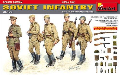 Miniart 1:35 - Soviet Infantryspecial Edition