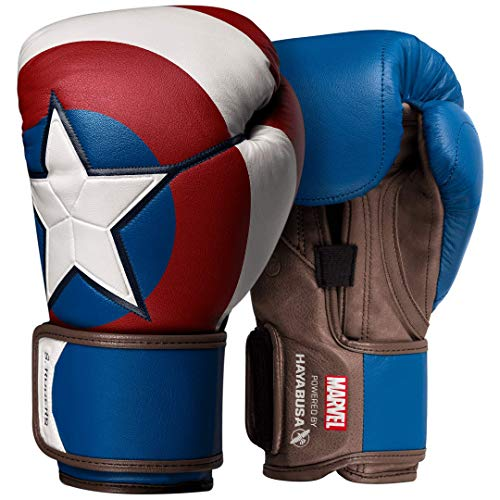 Hayabusa | Captain America Boxing Gloves | Marvel Hero Elite Series - 16oz