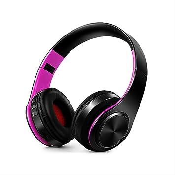 qazcg Auriculares Auriculares Bluetooth Auriculares inalámbricos ...