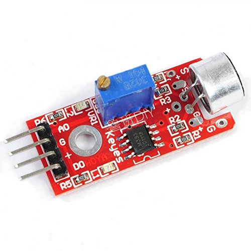 Exiron 10pcs Microphone Sensor AVR PIC High Sensitivity Sound Detection Module