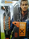 Gerber Bear Grylls Scout And Survival Knife and Lanyard Combo