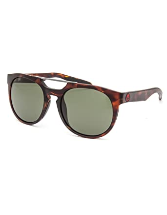 Dragon Proflect Sunglasses Matte Tortoise with Green Lens