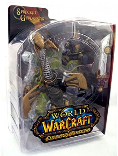 World of Warcraft 2: Gnome Warrior: Sprocket Gyrospring Action Figure