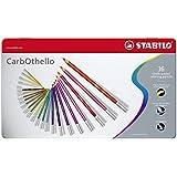 Pastellkreidestift - STABILO CarbOthello - 36er Metalletui - mit 36 verschiedenen Farben