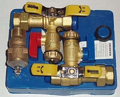Jacuzzi Tankless Water Heater Installation Valve Kit #364866