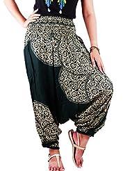 Villas LaiThai Printed 2 in 1 Harem Pants & Jumpsuit