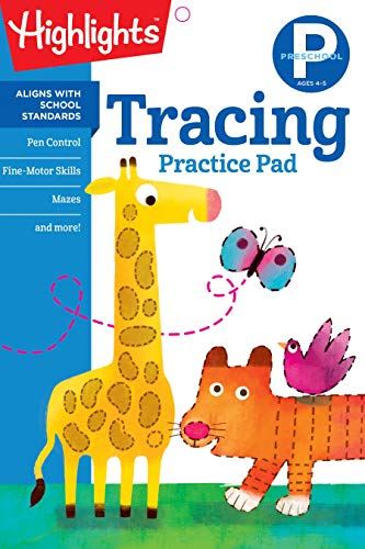 Learn Pads (Preschool Tracing (Highlights™ Learn on the Go Practice Pads))