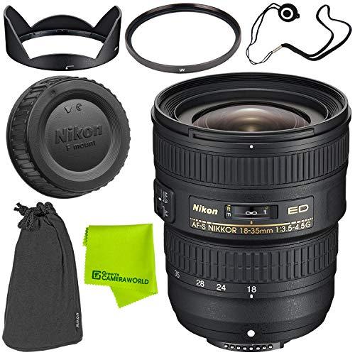 Nikon AF-S NIKKOR 18-35mm f/3.5-4.5G ED Lens Base Bundle
