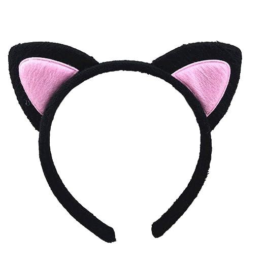 Amazon com: Dream Amy Kitty Cat Ear Headband Hair Band