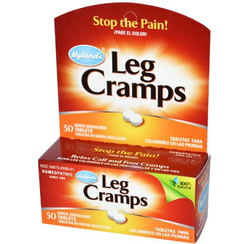 Hyland's Homeopathic Combinations Leg Cramps PM 50 tablets Pain (a)