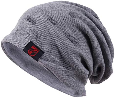 Cotton Blend Baggy Oversize Slouch Dreads Winter Warm Beanie Hat
