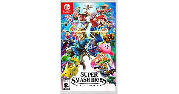 Image result for super smash bros ultimate case