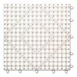 San Jamar Versa-Mat Bar-Shelf Liner, Plastic, 12w x 12d x 1/4h, Clear - Includes 24 mats.