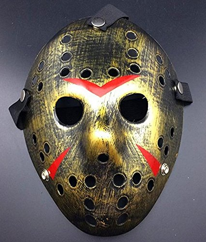 Jason And Freddy Halloween Costume (Gunoutdoor Friday The 13th Horror Hockey Jason Vs. Freddy Mask Halloween Costume Prop)