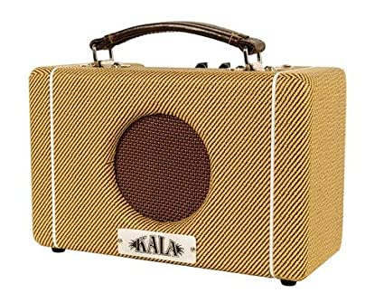 "Kala AMP-TWD 5-Watt 1x5"" Tweed Battery Powered Ukulele Amplifier"