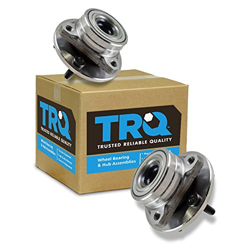 Front Wheel Hubs & Bearings Pair Set of 2 for Taurus Continental Sable 5 Lug (Front Taurus Wheel Ford Bearing)