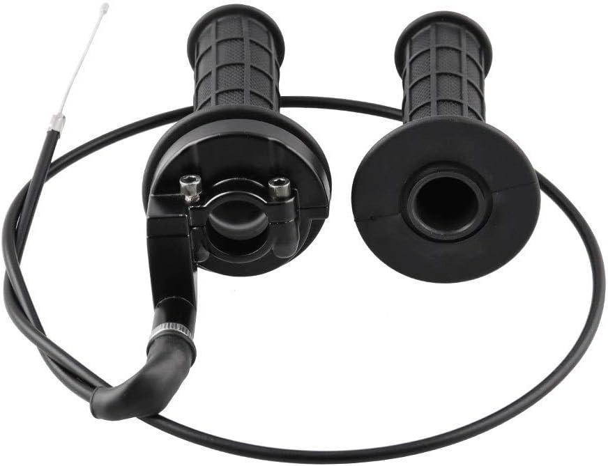for 110-250CC ATV Quad Pit Dirt Bike Motocross che corre Manubrio riscaldamento elettrico MB-MH028-BK Moto Grips 22 millimetri Maniglia Manopola morsetto Mano con cavo acceleratore