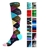 Product review for Compression Socks for Men & Women - BEST Graduated Athletic Fit for Running, Nurses, Shin Splints, Flight Travel, Maternity Pregnancy - Boost Stamina, Circulation & Recovery