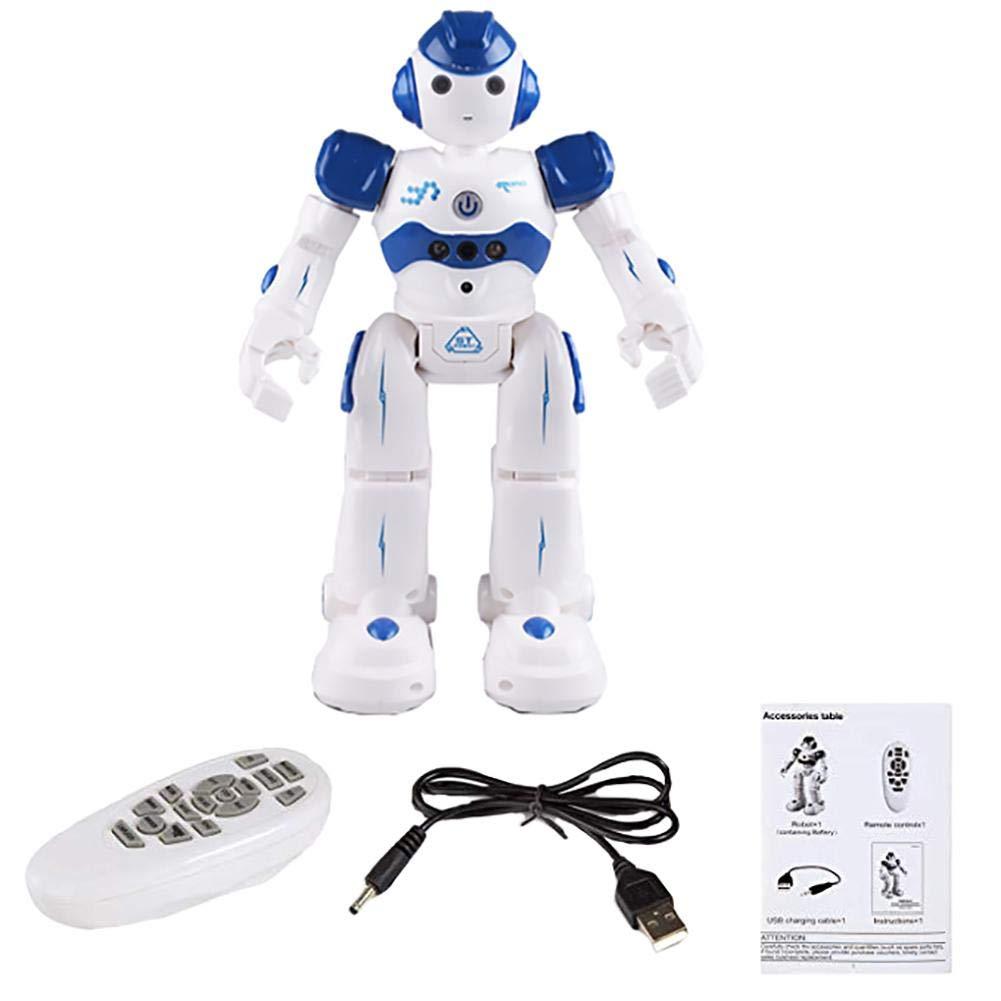 Miju Multi-Fonctionnel Robot Intelligent, Chargement des Jouets pour Enfants, Garçon Dansant Robot télécommandé, modèle de Robot, Jouet pour Enfants, Jouets interactifs personnels Superbes, jouez ave