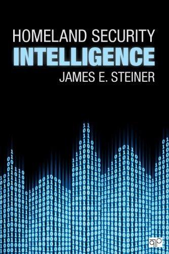 By James E Steiner Homeland Security Intelligence pdf epub