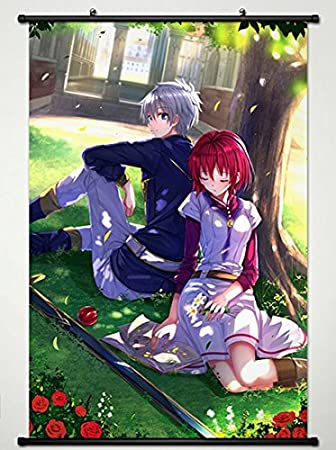Wall Scroll Poster Fabric Painting For Anime Snow White With The Red Hair Shirayuki Zen Wistalia Clarines 18 L