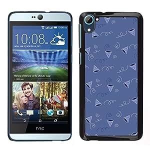 LECELL--Funda protectora / Cubierta / Piel For HTC Desire D826 -- Patrón de regalos fiesta de cumpleaños del Cono --