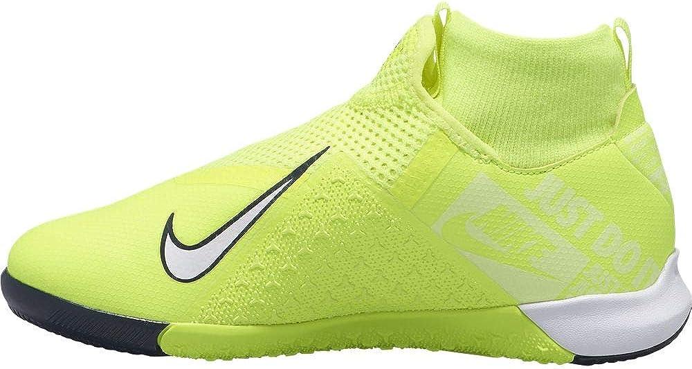 retro promoción buena textura Amazon.com: Nike JR Phantom Vision Academy DF IC - Volt-White 5 ...