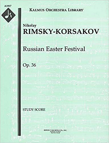 VERIFIED Russian Easter Festival, Op.36: Study Score [A1917]. Response Fibra which means tweets stock