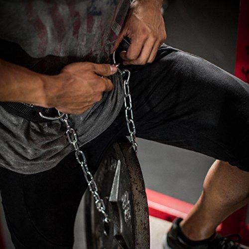 Harbinger Polypropylene Dip Belt with 30 Inch Steel Chain