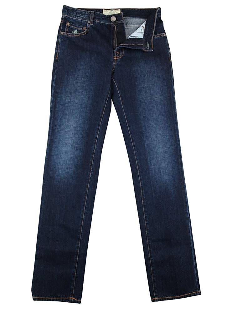 Extra Slim Luigi Borrelli New Dark Blue Jeans